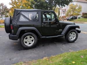 2011 Jeep Wrangler Sport - only 83 k
