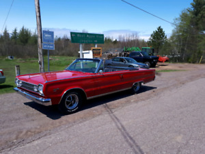 1966 Plymouth Satellite conv.