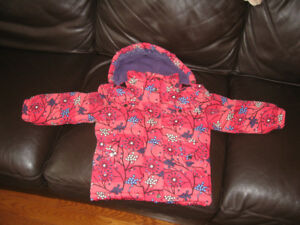 Girls winter jacket size 4