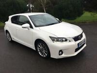 2013 13 LEXUS CT 1.8 200H ADVANCE 5D AUTO 136 BHP