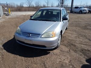 2003 CIVIC @JUST IN FOR PARTS AT PIC N SAVE! WELLAND