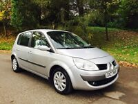2007 Renault Scenic Dynamique 1.5 DCI DIESEL 6 SPEED 106,000 miles Full Service History months MOT