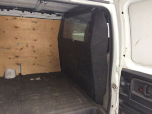 POLICE Partition Divider for Chevy Express GMC Savana HEAVY DUTY