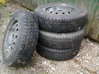Winter Tires P175/70R14 For Sale