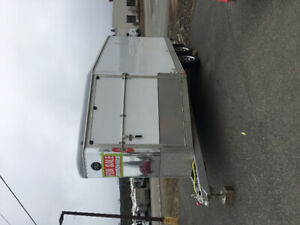 ***2010, 16' Wells Cargo*** Construction/Snowmobile trailer!