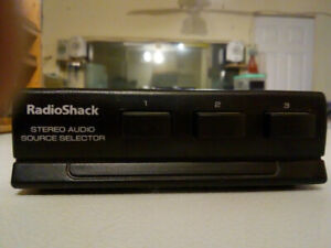 RADIO SHACK STEREO AUDIO