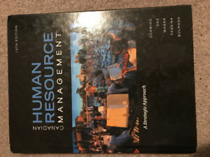 Canadian Human Resources Management 10th Edition