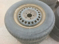 Buick Centary Rims and Tires 215/70/15