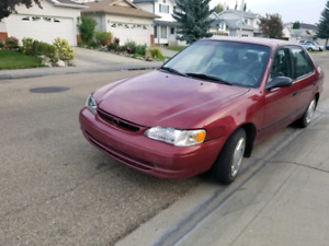 1999 Toyota Corolla in great condition