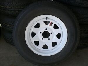 "TRAILER TIRES - ST 205 75 R15 - 15"" TIRES on RIMS"