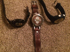 G-shock ,addidas,and fossil watches for cheap