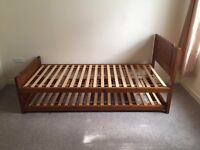Laura Ashley wood bed frame