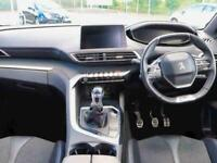 2018 Peugeot 3008 1.6 BlueHDi 120 GT Line 5dr Estate Diesel Manual