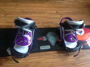 Selling used snow board