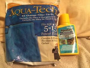 water conditioner and filter cartridge for fish tank