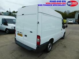 FORD TRANSIT 2.2TDCi DURATORQ 85PS T280 M/ROOF SWB AIR/CON PARKING SENSORS+RACKS