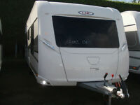 BRAND NEW 2017 LMC 595 VIP EXQUISIT,£2500 DEPOSIT TO RESERVE YOUR CARAVAN