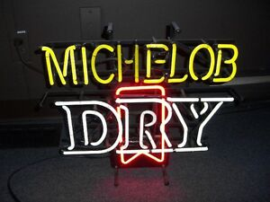 Michelob Dry Neon Sign