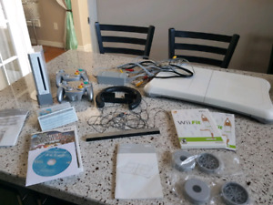 Nintendo Wii Fit set including wii console etc.