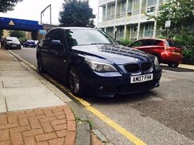 2007 BMW 520D M SPORT DIESEL FULLY LOADED 7 STAMP F/S/H VGC