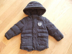Down Filled Toddler Winter Coat - 24 mo, Chateau de Sable brand
