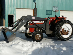 Massey Ferguson 65hp tractor with loader