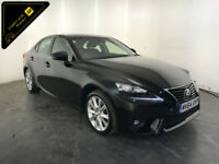2014 64 LEXUS IS 300H EXECUTIVE EDITION HYBRID AUTO SERVICE HISTORY FINANCE PX