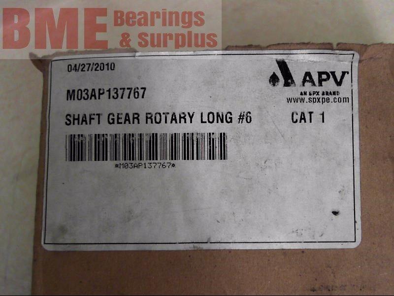 Spx Apv M03Ap137767 Shaft Gear Rotary Long #6