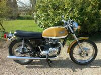 TRIUMPH BONNEVILLE T120V, 1972, MATCHING NUMBERS, BEAUTIFUL EXAMPLE