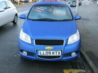 2009 CHEVROLET AVEO 1.4 LT FIVE DOOR HATCHBACK