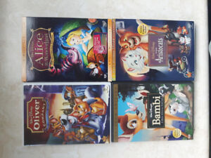 Walt Disney 4 DVD lot. All in excellent condition.