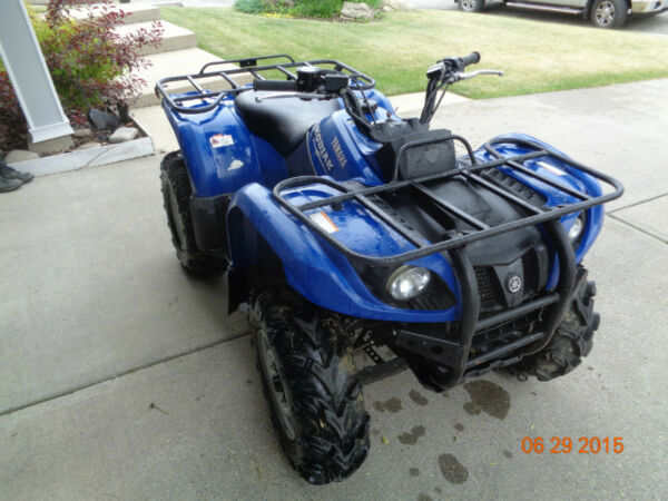 Yamaha grizzly 450 for sale canada 1 for 2009 yamaha grizzly 450 value