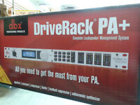 HERE'S WHAT EVERY P.A SYSTEM NEEDS!!!!!!!!  DBX Driverack Pa+