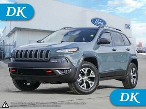 2014 Jeep Cherokee Trailhawk w/Leather Interior, Navigation