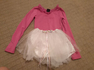 Ballet suit and skirt size 4-6