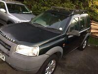 Freelander 1.8 petrol + mot + brand new head gasket