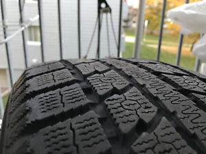 4 Winter tires 255/55/R19 111H Toyo Observe GSi 5 West Island Greater Montréal image 2