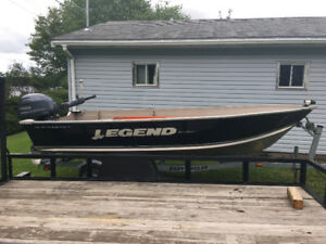 14ft Legend Alumimum Boat & Motor