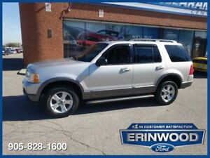 2003 Ford Explorer XLT4WD / 7 PASS / ROOF / LTHR / ALLOYS / LOW