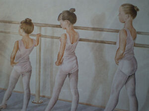 "John Newby - "" At the Barre "" - Limited Edition Print Kitchener / Waterloo Kitchener Area image 7"