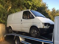 Ford transit breaking