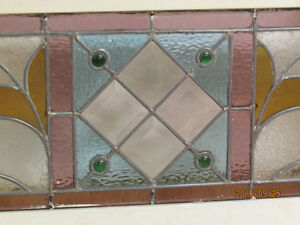 Antique Stained Gass Window