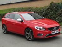2014 Volvo V60 2.4 TD D6 R-Design Lux Nav Geartronic 4x4 5dr
