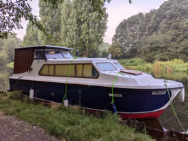 Cabin cruiser boat for sale