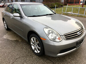 2006 Infiniti G35x Luxury Sedan|*Navigation|Certified|Warranty**