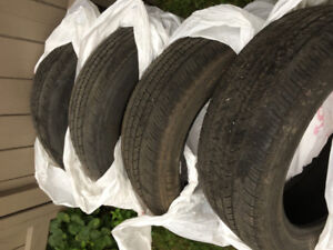 4  summer tires Michelin mxv4 215/55R17