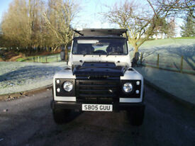LAND ROVER DEFENDER PHOENIX 90 TD5, LOW MILES ,CUSTOM BUILD SPEC.