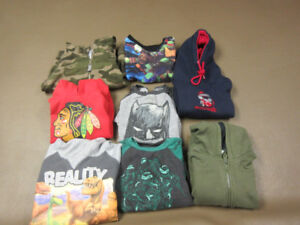 ASSORTED GROUP  LOT OF BOYS SIZE 4 AND SIZE 4/5 FALL CLOTHES
