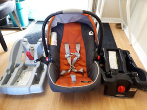 coquille graco snugride click connect 35 + 2 bases