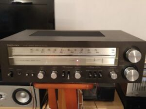 Vintage Technics Stereo Receiver SA-340 Made in Japan